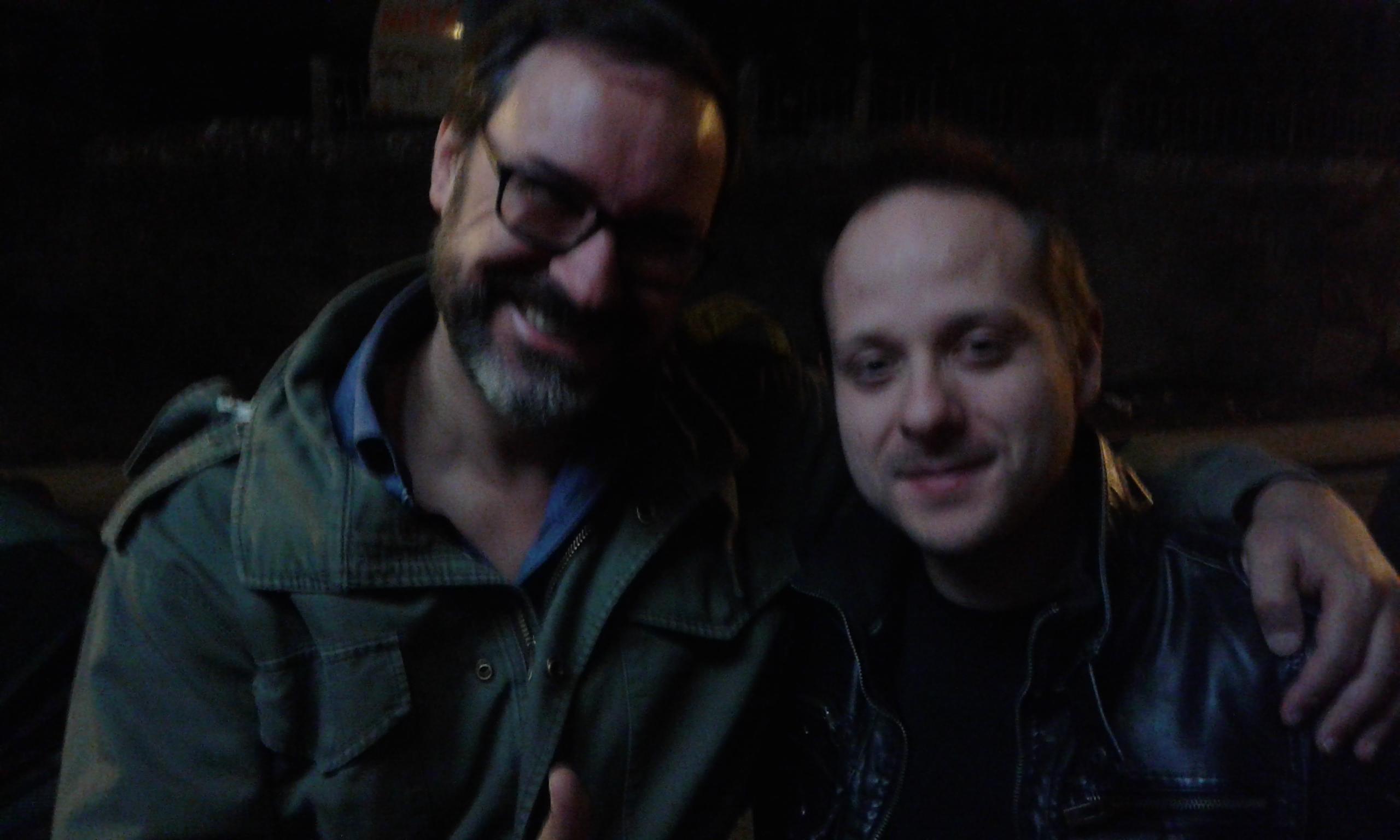 Con Alberto Vilas