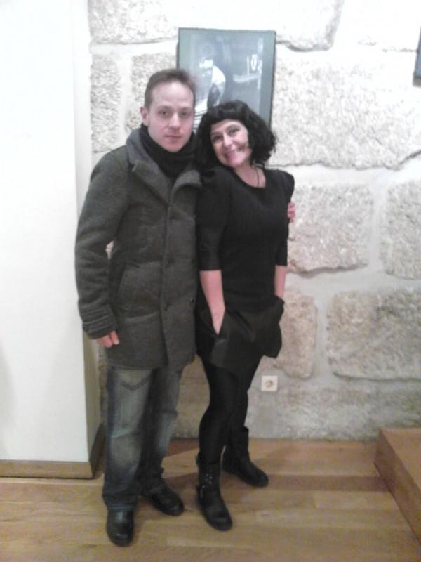 con Tareixa Taboada