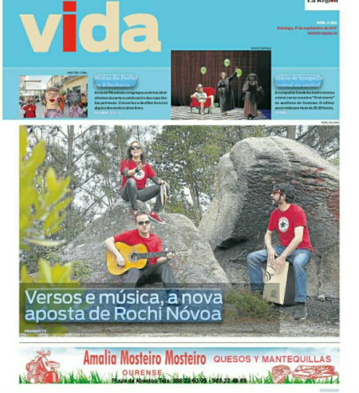 """Reportaje """"Vida"""" (La región Ourense)"""
