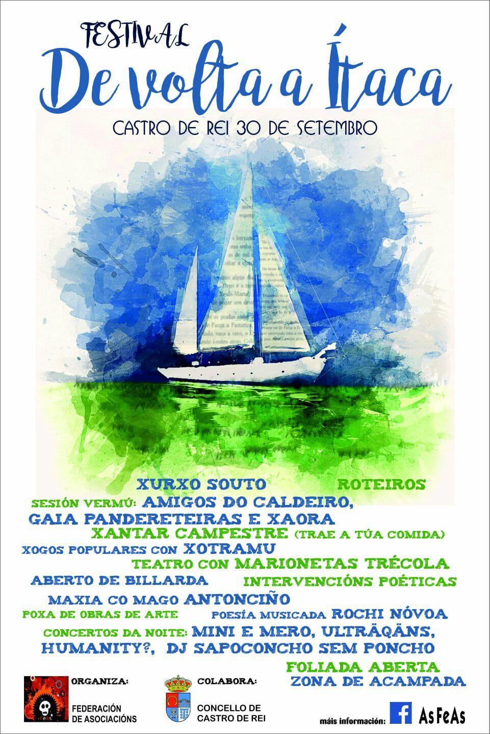 Recital en festival Itaca en Castro de Rei (Lugo)
